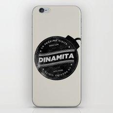 La próxima visita será con dinamita iPhone & iPod Skin