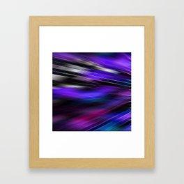 Re-Created  Feather ix by Robert S. Lee Framed Art Print