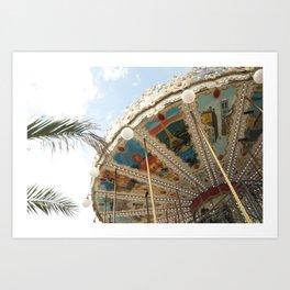 Paris Carrousel  Art Print