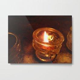 Lighting One For You Metal Print