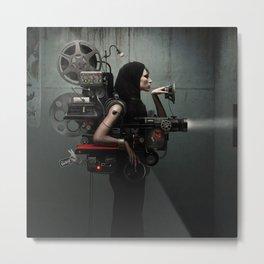 Madame Cinematic Metal Print