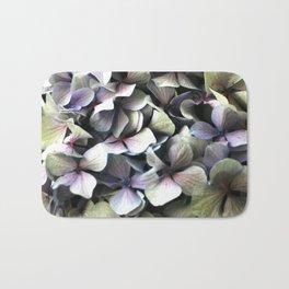 hydrangea flower macro Bath Mat