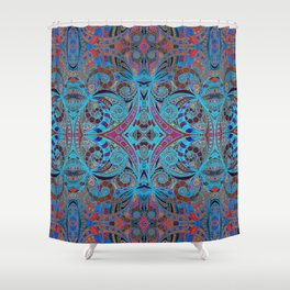 Ethnic Style G257 Shower Curtain