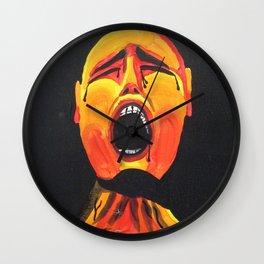 3 Visions Art Pain Wall Clock
