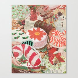 Holiday Bakes Canvas Print