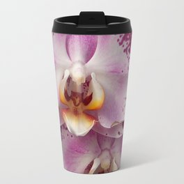 Pink Orchid Blossom from Mexico Travel Mug