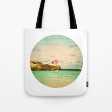 day at the reef Tote Bag