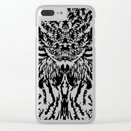 Watchful eyes Clear iPhone Case