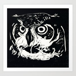 I am the Owl Art Print