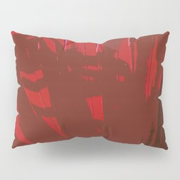 Deep Red Pillow Sham