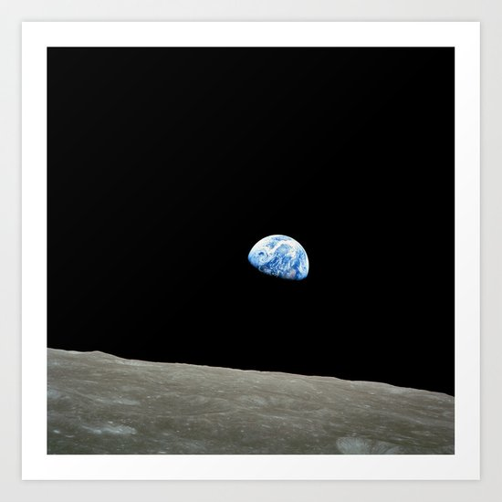Earthrise by earthmoonstarsstudio
