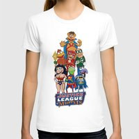 muppets T-shirts featuring Justice League of Muppets by JoshEssel