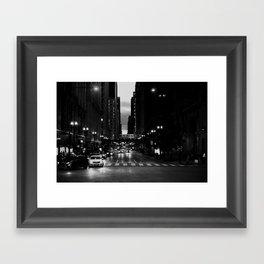 Chicago Noir ... Framed Art Print