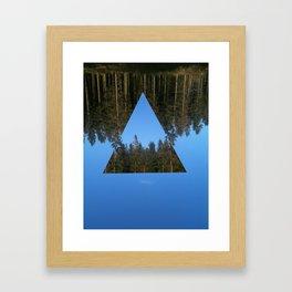 HIMLASKOGEN / WOODS IN THE SKY Framed Art Print