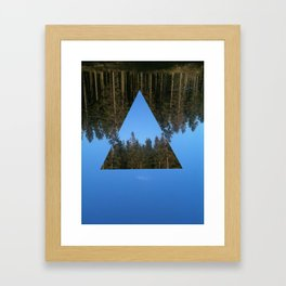 HIMLASKOGEN / WOODS IN THE SKY Framed Art Print
