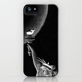 Hudson River Night Sailing  iPhone Case