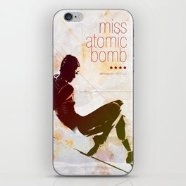 Miss Atomic Bomb. V2 iPhone Skin