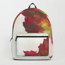 Red Maple Leaf Backpack