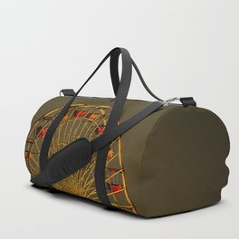 Pacific Park at sunset Duffle Bag