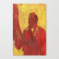 soviet Canvas Prints featuring Soviet by Gokhan Gokseven