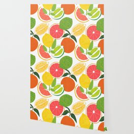 Citrus Harvest Wallpaper