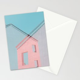 Beach Houses Stationery Cards