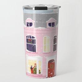 Xmas house Travel Mug