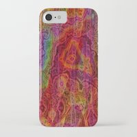bands iPhone & iPod Cases featuring Bands II by RingWaveArt