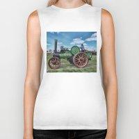 jem Biker Tanks featuring Jem General Purpose Engine by Avril Harris