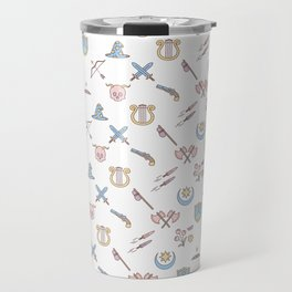Cute Dungeons and Dragons classes Travel Mug