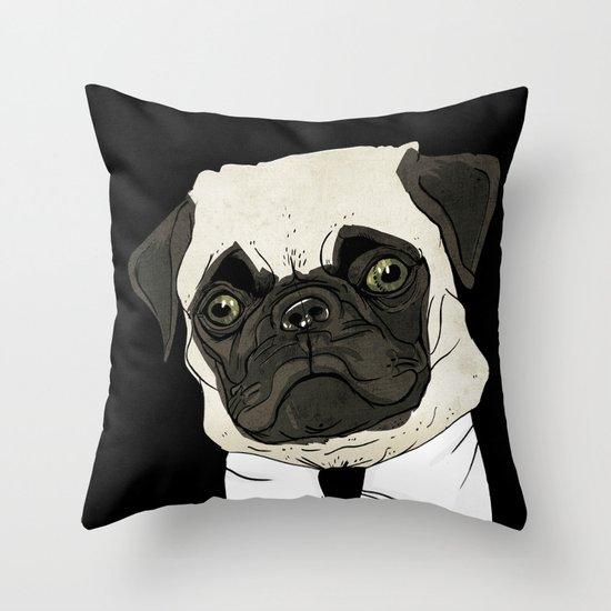 puggetaboutit Throw Pillow