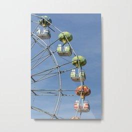 Ferris whell Metal Print