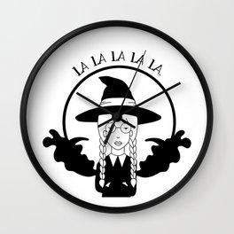 La la la la la. Wall Clock