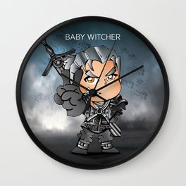 Baby witcher Wall Clock