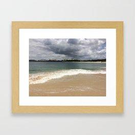 Beautiful gloomy day Framed Art Print