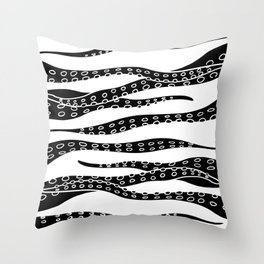 Hand Made Tentacle Throw Pillow