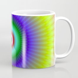 Colorful Concentric Rings Coffee Mug