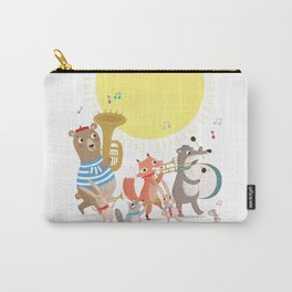Children's Nursery Music Animal Band Carry-All Pouch