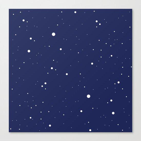 Night sky Canvas Print