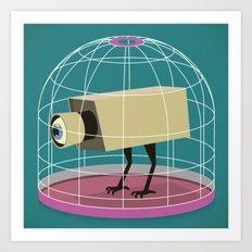 Bird State Art Print