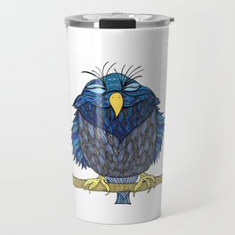 Charlotte was Satisfied with her Vote Travel Mug