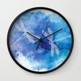 Dragon Flies Wall Clock