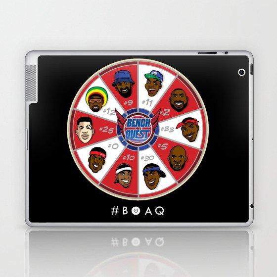 B*O*A*Q: Bench On a QUEST Laptop & iPad Skin