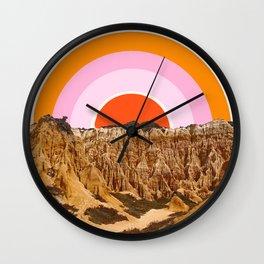 Alentejo Rainbow Wall Clock