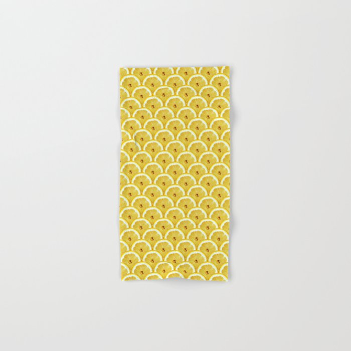 Lemons are watching you! Hand & Bath Towel
