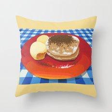 Pancakes Week 15 Throw Pillow