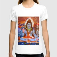 shiva T-shirts featuring Shiva by Antonimo-discipulosinmaestro