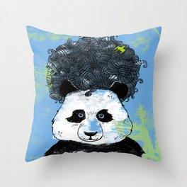 Mad Panda Throw Pillow