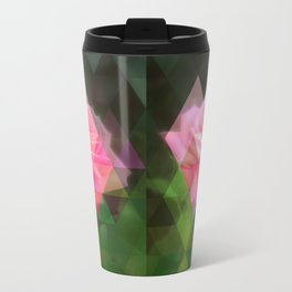 Pink Roses in Anzures 3 Art Triangles 1 Travel Mug