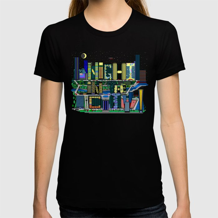 Night In The City T-shirt